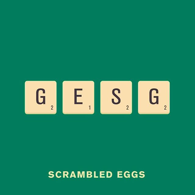scrambled eggs @punnypixels