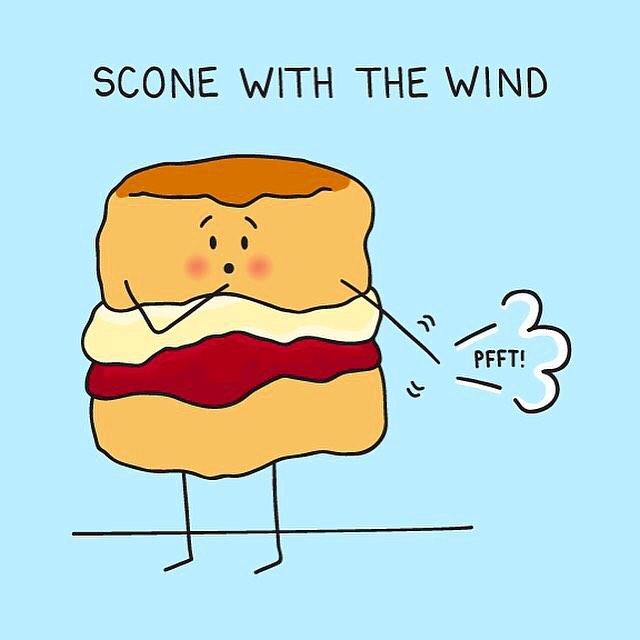 scone with the wind @ezetie
