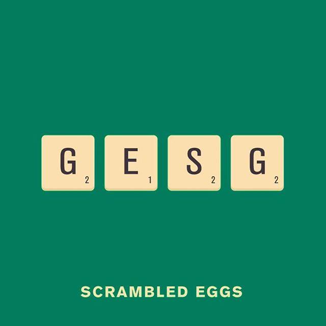 scrambled eggs @punnypixels
